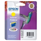 Картридж Epson T0804 yellow C13T08044010 (Original)