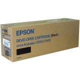 Developer Cartridge Epson C900/C1900 Black Original