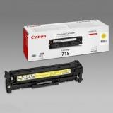 Картридж Canon 718 yellow (Original)