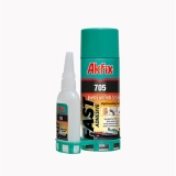Two-component glue Akfix 705 25g, hardener 100ml