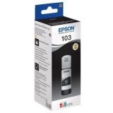 Ink Bottle Epson C13T00S14A №103 Black original