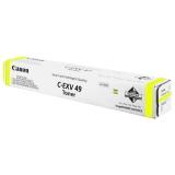 Тонер-картридж Canon C-EXV49 yellow