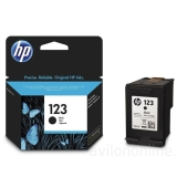 Ink Cartridge HP 123 black (Original)
