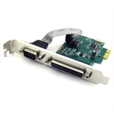 Плата PCI-E to LPT1+RS232