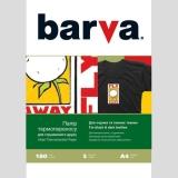 Бумага BARVA THERMOTRANSFER Черные Ткани 205g A4 5л