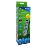 Сетевой фильтр Defender ES Lite 1,8м