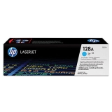 Cartridge HP 128A cyan (original)