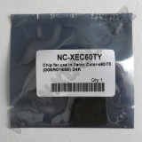 Chip Xerox Color C60/C70 yellow 34K