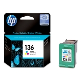Cartridge HP 136 color (Original)