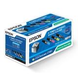 Pack Toner Cartridge Epson C1100/CX11 (CMYBk) Original