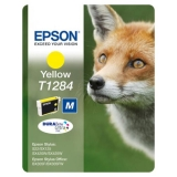 Ink Cartridge Epson T1284 yellow C13T12844010 (Original)