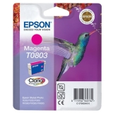 Ink Cartridge Epson T0803 magenta C13T08034010 (Original)