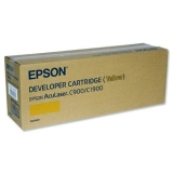 Developer Cartridge Epson C900/C1900 Yellow Original