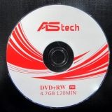 DVD+RW Disk 4,7 Gb 4x WT