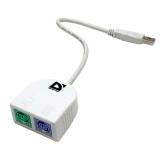 Defender USB Type A-2х PS/2 кәбілі адаптер