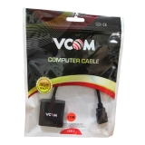 Adapter HDMI - VGA (15F)