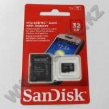 Карта памяти microSD 32Gb SanDisk
